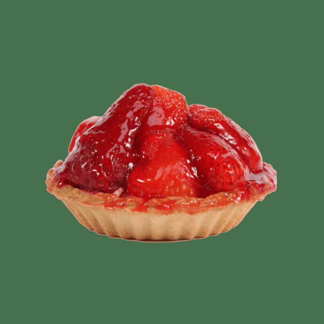 |Sable Dough| Crème Anglaise|Organic Strawberries| Frutti Felici Bakery