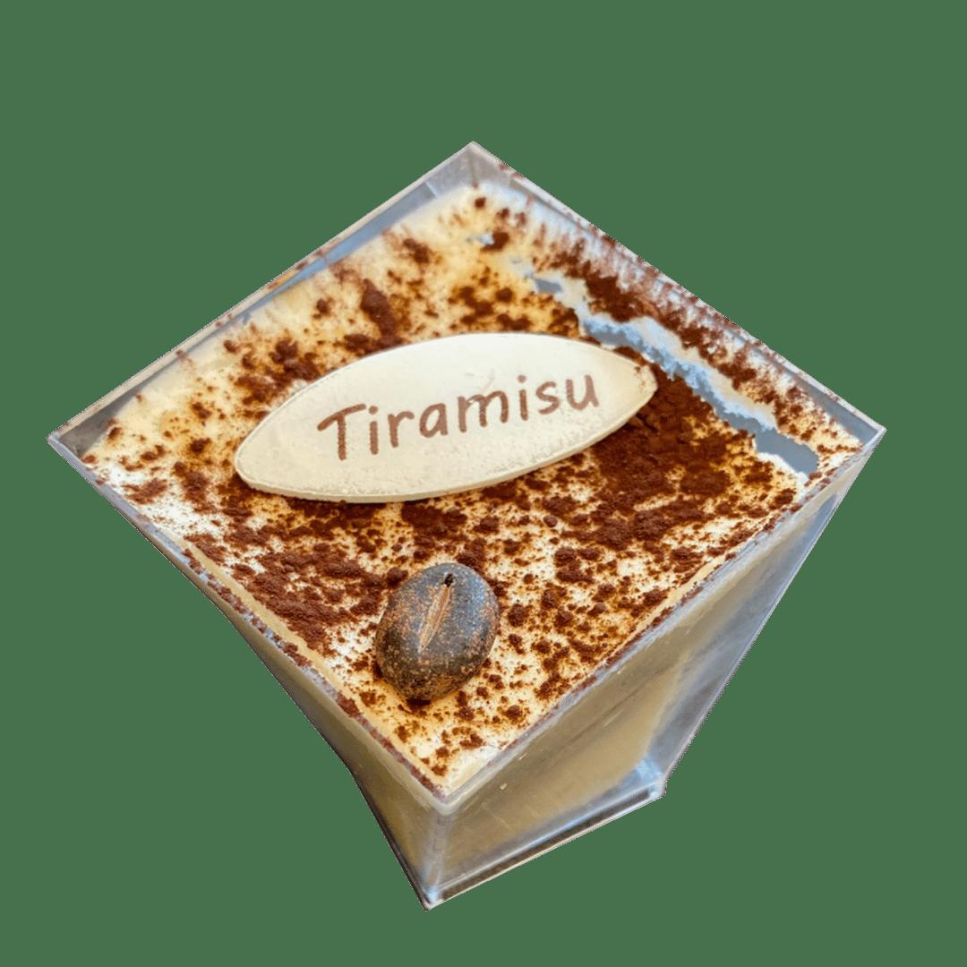|Espresso-Soaked Ladyfingers|Mascarpone Cheese Cream|Coffee| Frutti Felici Bakery